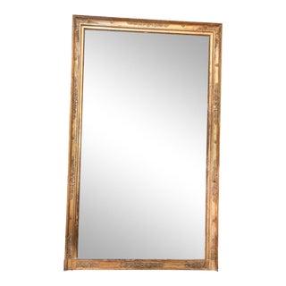 Large French Bois Doré Mirror