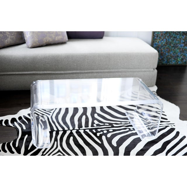 Plexi-Craft Waterfall Coffee Table - Image 5 of 5