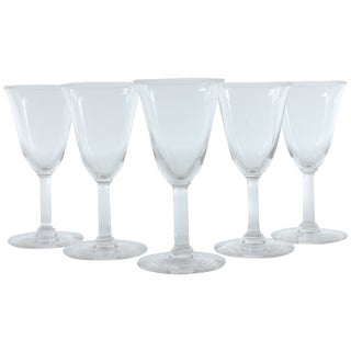 French Cordial Glasses - Set of 5