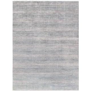 "Pasargad Transitional Silk & Wool Area Rug - 10' 0"" X 14' 0"""