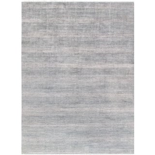 "Pasargad Transitional Silk & Wool Area Rug - 10' 0"" X 14' 0"""