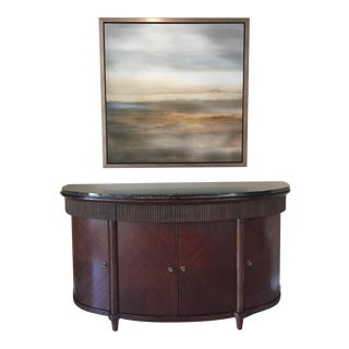 "Bernhardt ""Opus Xix"" Palladio Buffet With Polished Granite Top"