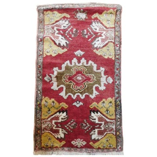 "Turkish Oushak Ushak Rug - 1'8"" x 2'8"""