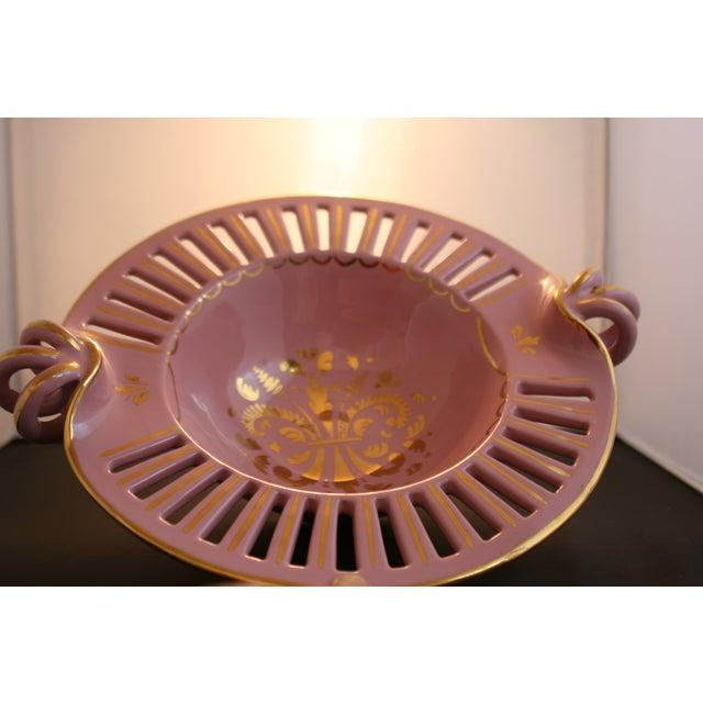 Image of Vintage 50's Italian P.V. Pottery Large Bowl