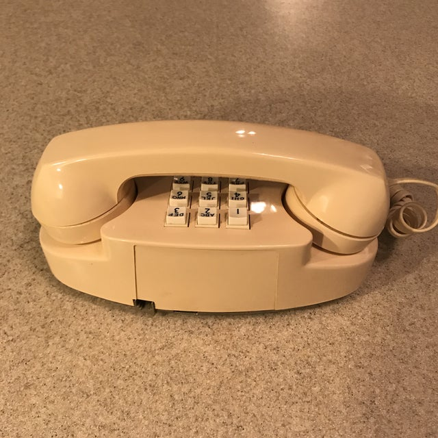 Ivory Western Electric Princess Push Button Phone - Image 8 of 11