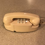 Image of Ivory Western Electric Princess Push Button Phone