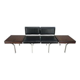 John Behringer for JG Furniture Bench With End Tables