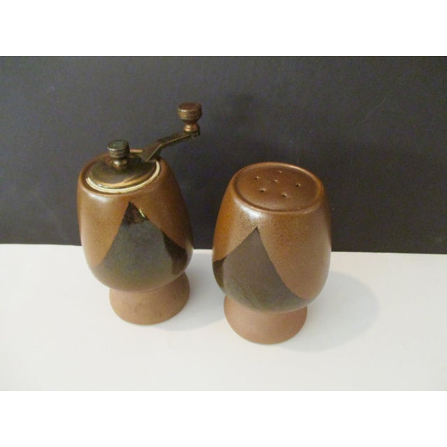 David Cressey Pottery Salt Shaker & Pepper Grinder - Image 6 of 9