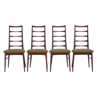 Koefoeds Hornslet Teak Dining Chairs - Set of 4