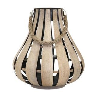 Natural Wood Cade Lantern