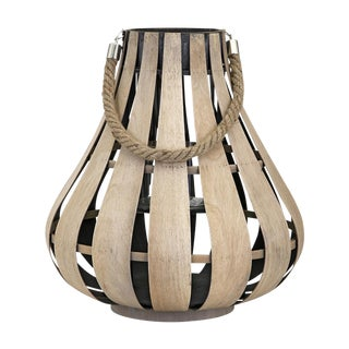 Natural Wood Cade Lantern