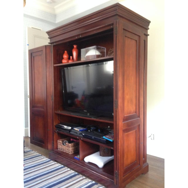 Classic Wood Armoire/Wardrobe - Image 3 of 10
