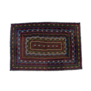 Vintage Reversible Hand-Stitched Pakistani Kantha Throw