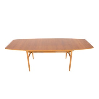 Scandinavian Mid-Century Teak & Drop Leaf Dining Table