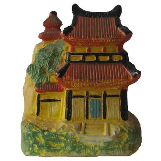 Vintage Pagoda Incense Burner