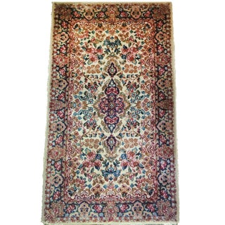 Antique Wool Kirman Persian Rug, 5'x3'