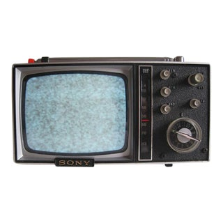 Working 1965 Sony Micro Transistor Television