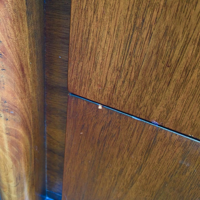 Mid-Century Diamond Front Nightstands - A Pair - Image 10 of 11