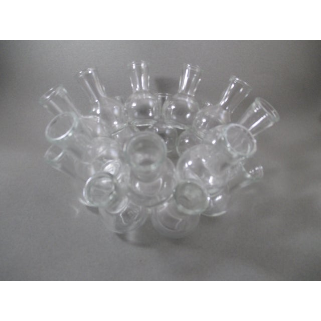 Image of Centerpiece Ring of Tiny Bud Vases