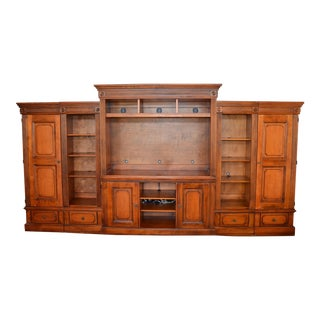 Romweber Media Entertainment Cabinet - 6 Pieces