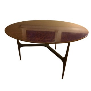 Keno Brothers Burl Wood Coffee Table