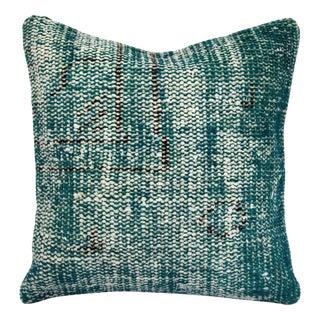 Emerald Turkish Handmade Kilim Pillow Cover