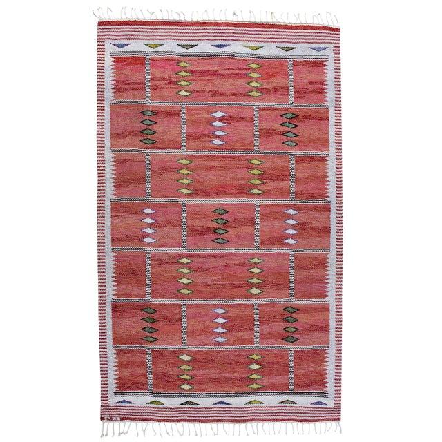 Vintage Carl Dagel Flat-Weave Swedish Carpet - Image 1 of 8