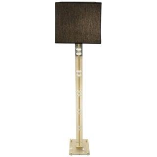 Elegant Glass Floor Lamp