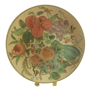 Andrea by Sadek Porcelain Hand Painted Plate