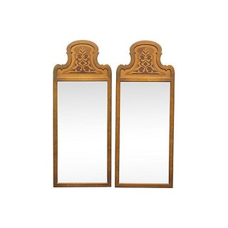 Vintage Moroccan Style Giltwood Mirrors - A Pair
