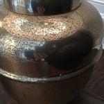 Image of Aged Brass Regency Lamp