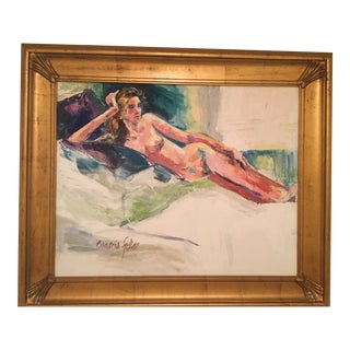 Eugenia Foster Reclining Nude Oil Painting