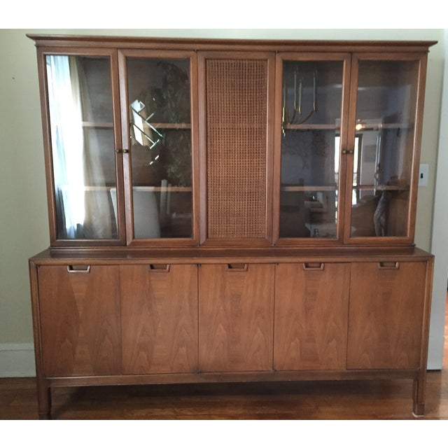 Mid Century John Stuart Credenza China Hutch - Image 2 of 5
