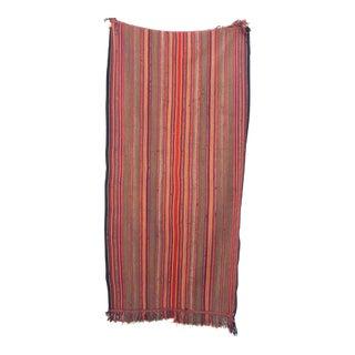 Vintage Kilim Handmade Rug - 4'6'' X 8'8''