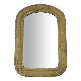Antique Arched Accent Mirror