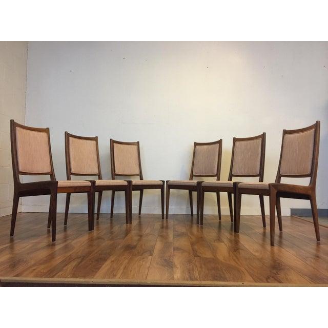 Karl Erik Ekselius for JOC Rosewood Dining Chairs- Set of 6 - Image 3 of 7