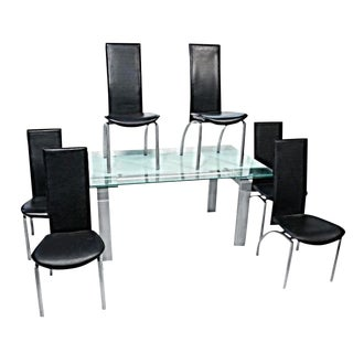 Kaiser Newman Post Modern Art Deco Dining Set