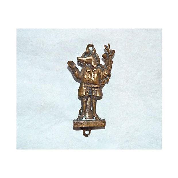 Image of Trusty Servant Brass Door Knocker