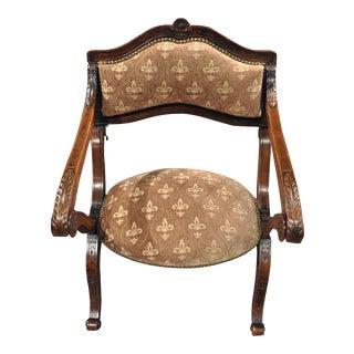 "19th Century French Metamorphic Armchair Prayer Kneeling Chair ""Prie-Dieu"""
