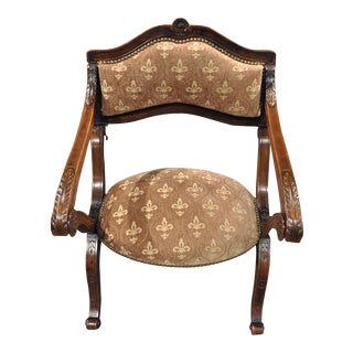 "19th Century French Metamorphic Armchair Prayer Kneeling Chair ""Prie-Dieu"""