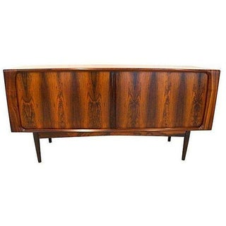 Mid-Century Modern Rosewood Credenza Cabinet