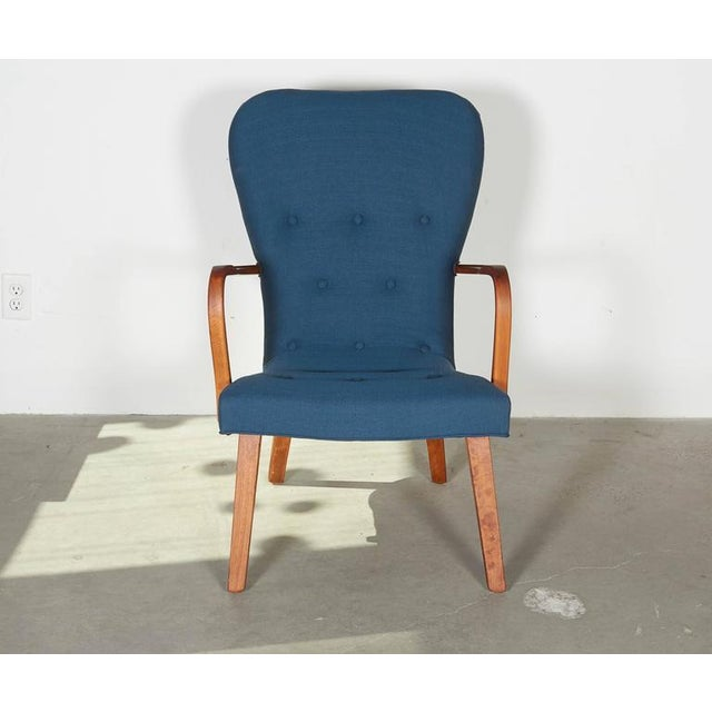 Mid-Century Swedish Arm Chair - Image 4 of 8