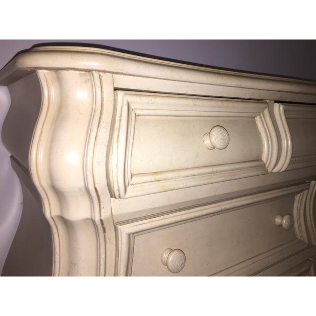 Almond Bombe-Style Dresser - Image 4 of 5