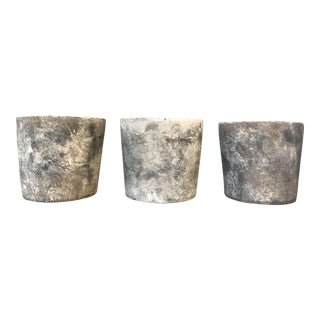 Minimalist Concrete Planters - Set of 3