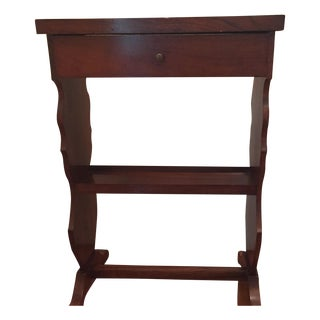 Small Traditional Wooden Side Table