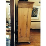 Image of German Antique Pine Armoire