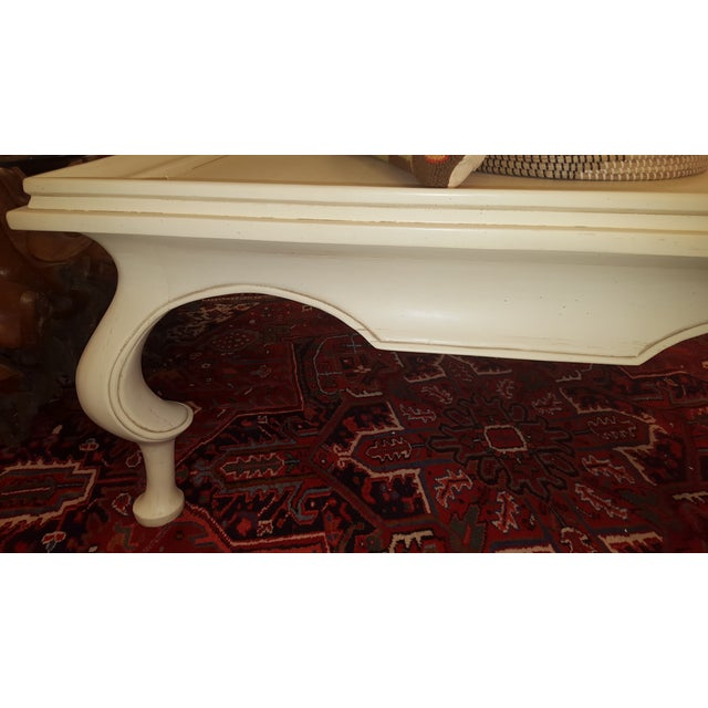 Oversized Tan Coffee Table - Image 5 of 6