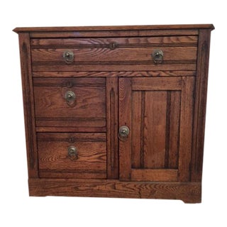 American Antique Chest With Drawers