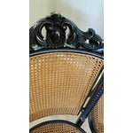 Image of Antique French Style Cane Chairs - Set of 4