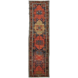 Surena Rugs Antique Handmade Northwest Persian Runner - 3' x 10' 10''